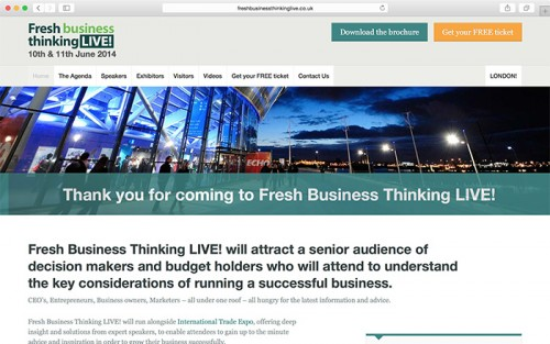 Fresh Business Thinking Live!